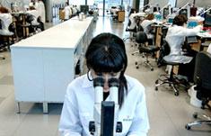 拥有独立的检修实验室